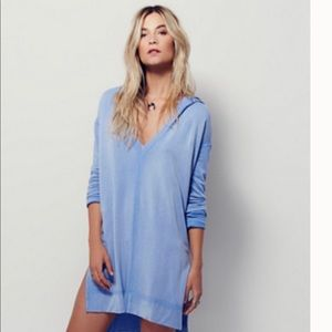 Free People Queen of Hearts Pullover/Dress Medium